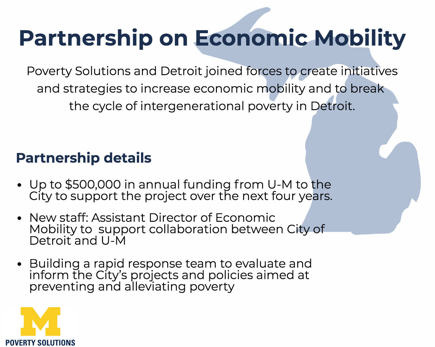 Partnership On Economic Mobility