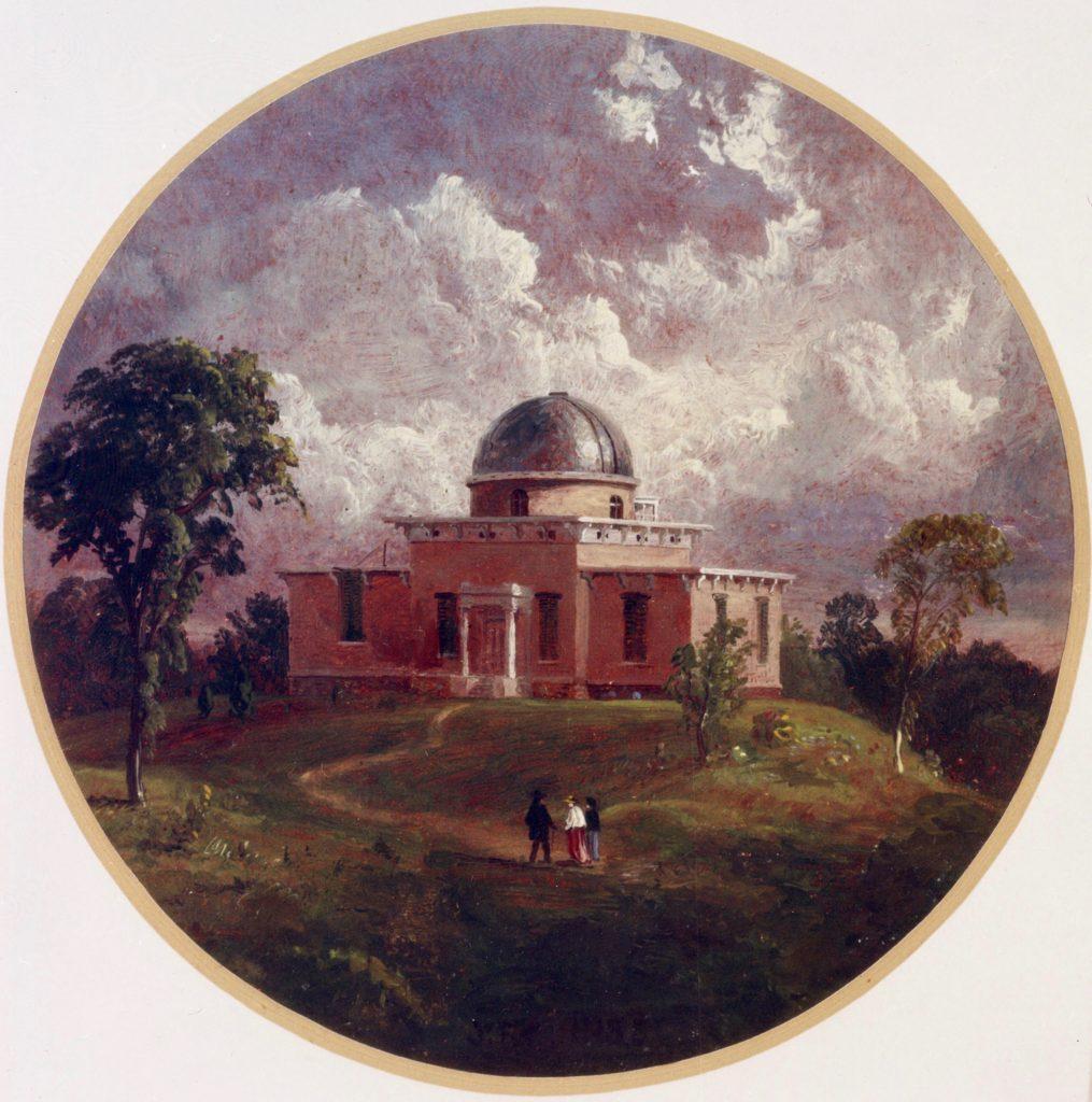Detroit Observatory is Built