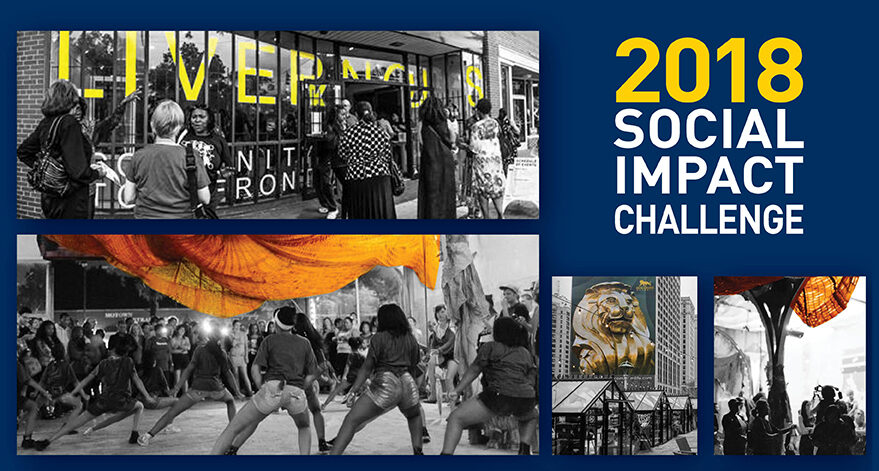 2018 Social Impact Challenge banner