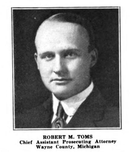 Robert Toms Graduates from U-M Law School